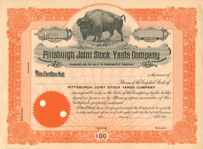 Pittsburgh Joint Stock Yards Company